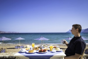 breakfast is amazing in Galini Beach Hotel