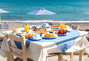 galini beach hotel breakfast