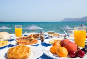 galini beach hotel european breakfast